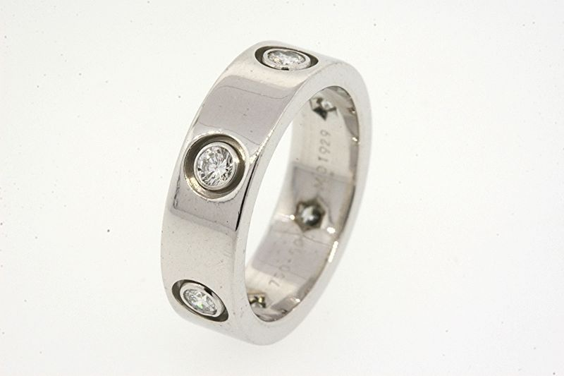 Cartier Diamond Love Ring Collection