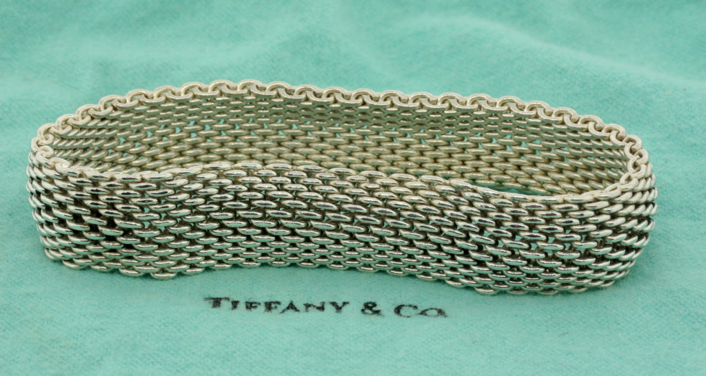 Tiffany & Co. Somerset mesh bracelet Designer Jewelry Collections