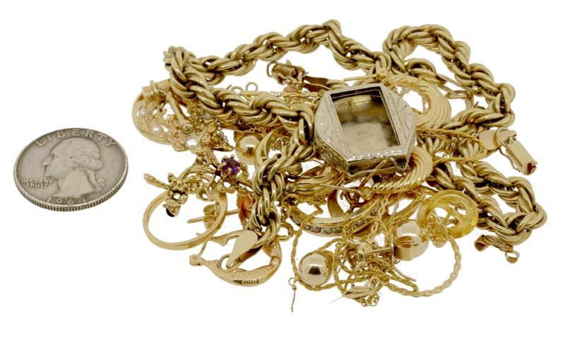 Janet's scrap gold worth $1068