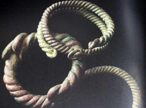 Ancient Cable Bracelets